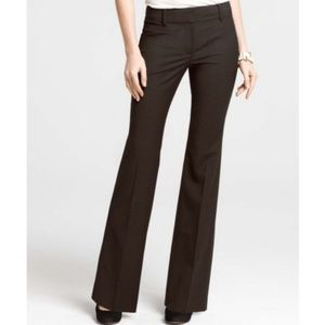 Ann Taylor Signature Tropical Wool Trousers 12P